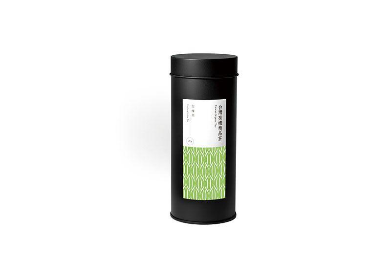 台灣有機包種茶/25g/罐