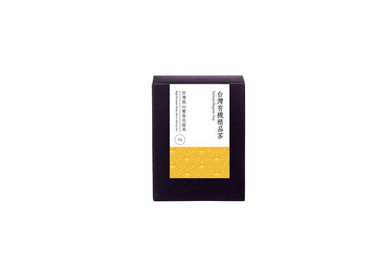 台灣有機高山蜜香烏龍茶/37.5g/盒